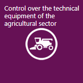 Control over technical equipment of agribusiness industry