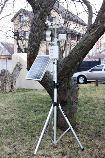 External appearance of METEO INSPECTOR weather station